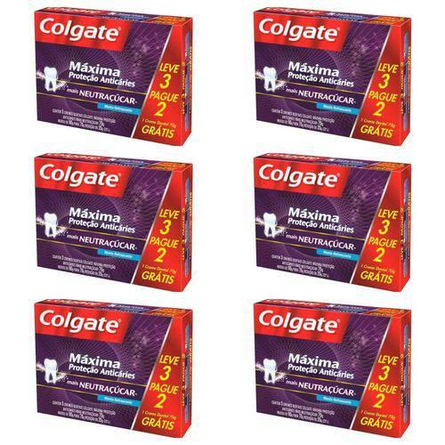 Colgate Mpa Neutraçucar Creme Dental 3x70g (kit C/06)