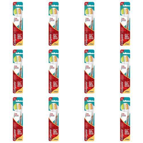 Colgate Slim Soft Advance Escova Dental C/2 (kit C/12)