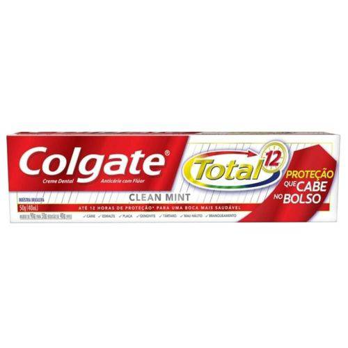 Colgate Total 12 Clean Mint Creme Dental 50g