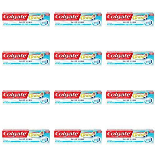 Colgate Total 12 Saúde Visível Creme Dental 133g (kit C/12)