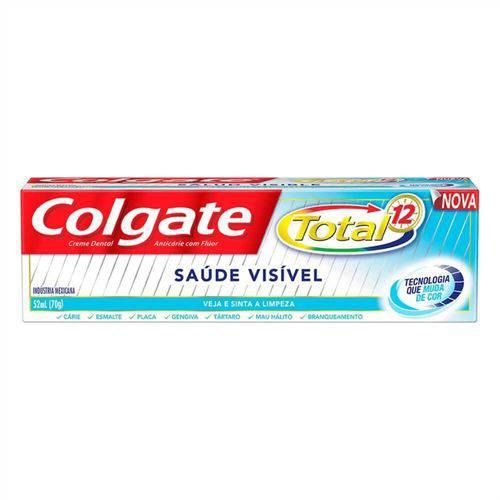 Colgate Total 12 Saúde Visível Creme Dental 70g
