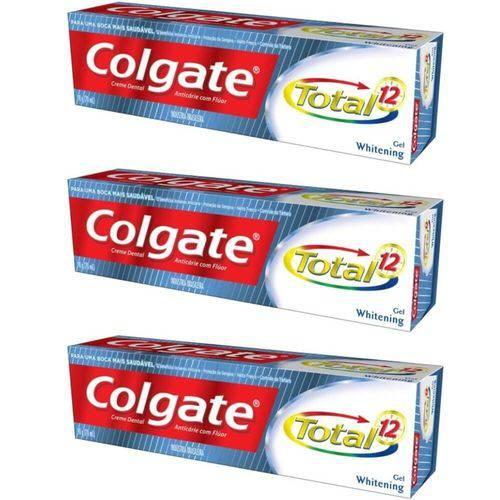 Colgate Total 12 Whitening Creme Dental 90g (kit C/03)