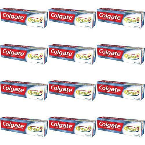 Colgate Total 12 Whitening Creme Dental 90g (kit C/12)