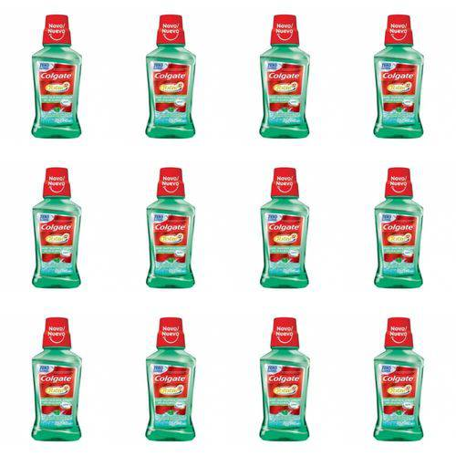 Colgate Total Hálito Saudável Enxaguante Bucal 250ml (kit C/12)