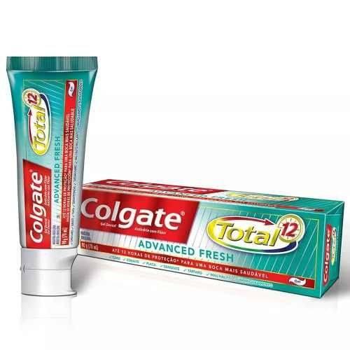Colgate Total12 Advanced Fresh Creme Dental 90g (kit C/06)