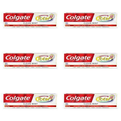 Colgate Total12 Clean Mint Creme Dental 90g (kit C/06)