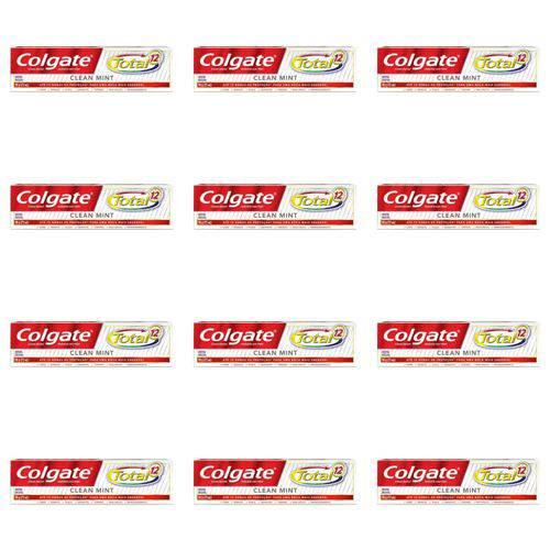 Colgate Total12 Clean Mint Creme Dental 90g (kit C/12)