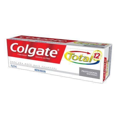 Colgate Total12 Profissional Whitening Creme Dental 70g