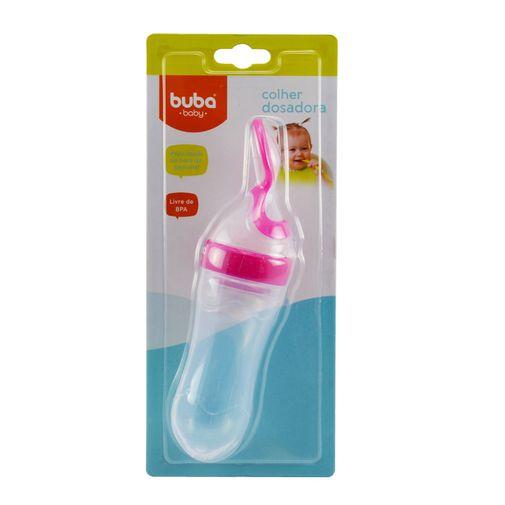 Colher Dosadora Rosa - Buba