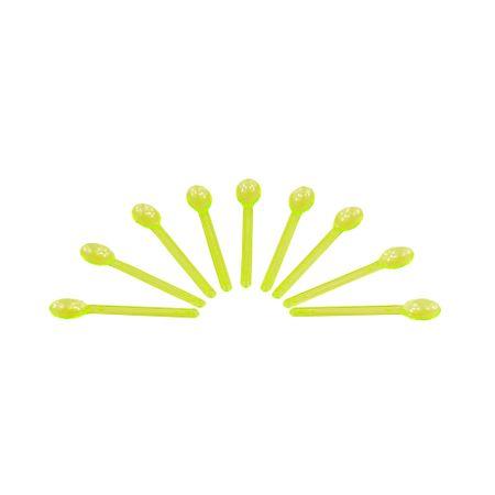 Colherzinha P/ Doces Amarela Neon