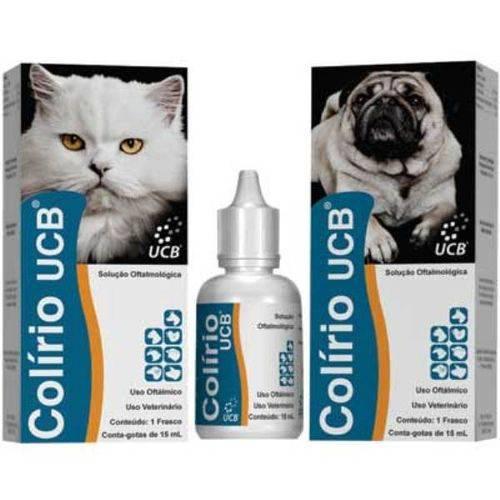 Colirio Ucb para Cães e Gatos - 15 Ml