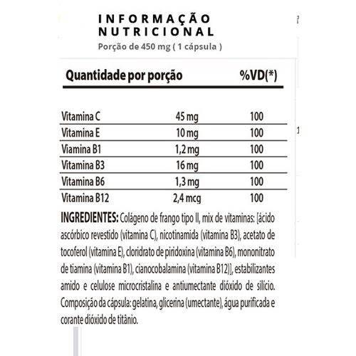 Collagen - 60 Cápsulas - Nutrify