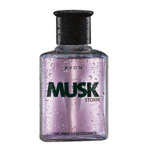 Colônia Desodorante Musk Storm - 90ml