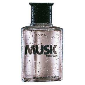 Colônia Desodorante Musk Vulcain - 90ml