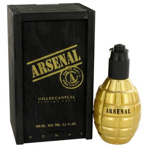 Colônia Masculina Arsenal Gold Colônia Gilles Cantuel 100 Ml Eau de Parfum