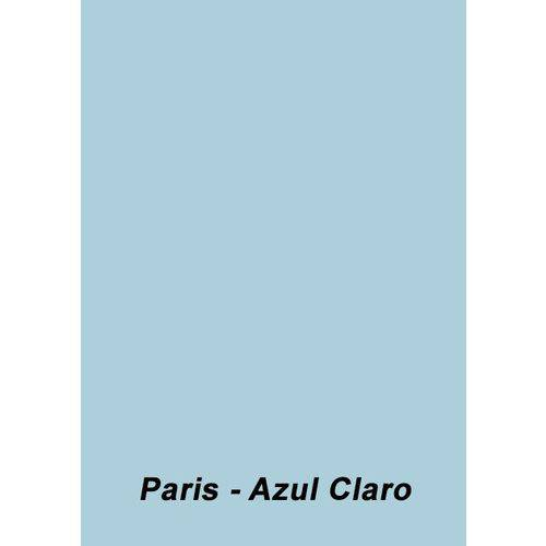 Color Plus A4 180g 25 Folhas Cor Paris - Azul Claro