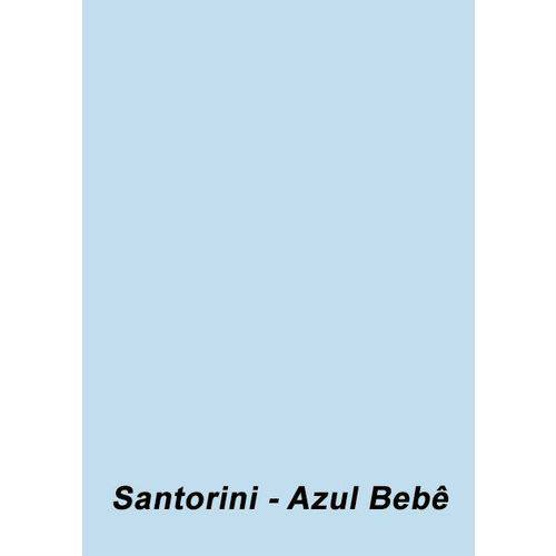 Color Plus A4 180g 25 Folhas Cor Santorini - Azul Bebê