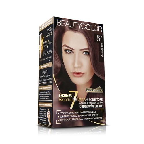 Coloração Beauty Color 5.7 Chocolate Café