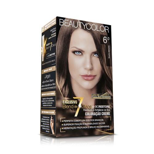Coloração Beauty Color 6.0 Louro Escuro