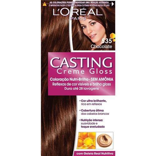 Coloração Casting Gloss 535 Chocolate