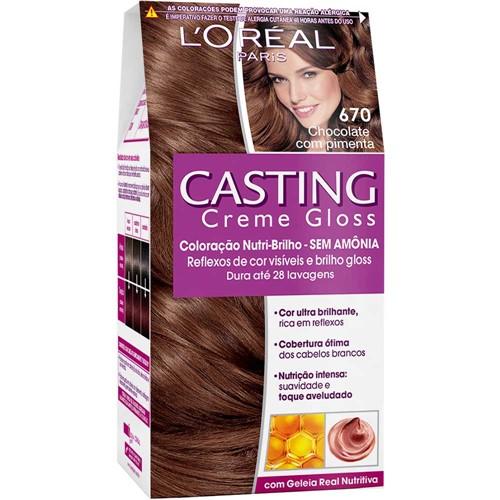 Coloração Casting Gloss 670 Chocolate com Pimenta