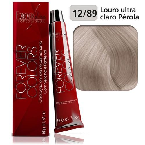 Coloração Forever Colors - Clareador 12-89 Louro Ultra Claro Pérola