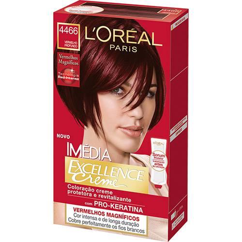 Coloração Imédia Excellence 4466 Vermelho Profundo - L'Oréal Paris