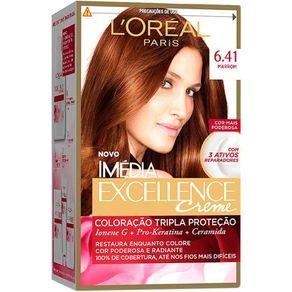 Coloração Imédia Excellence 6.41 Marrom