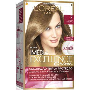 Coloração Imédia Excellence 7 Louro Natural
