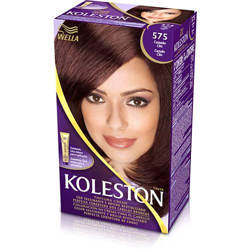 Coloração Koleston Kit 575 Castanho Chic - Wella