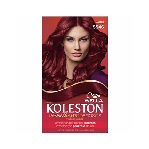 Coloração Koleston Kit Vermelhos 5546 Amora