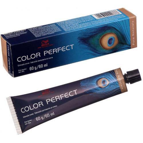 Tintura Profissional Wella Color Perfect 2/0 Preto - 60g