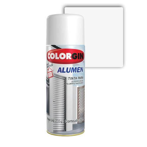 Colorgin Spray Alumen Branco 7004 350ML