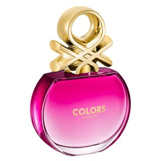 Colors Pink Benetton - Perfume Feminino - Eau de Toilette 50ml