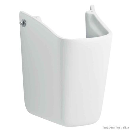 Coluna para Lavatório Suspensa Fit Life Branca Celite