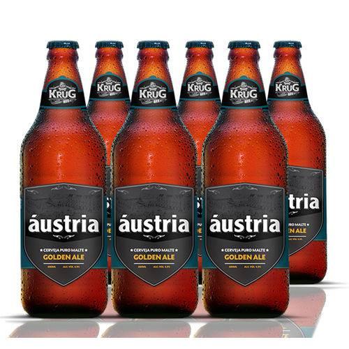 Combo 6 Cervejas Áustria Golden Ale 6000ml