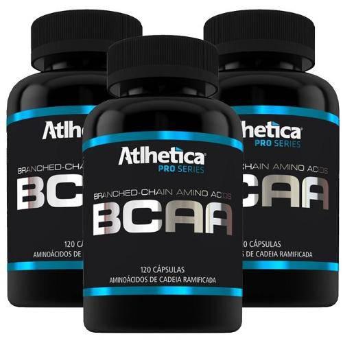 Combo 3 BCAA Pro Series 360 Caps - Atlhetica