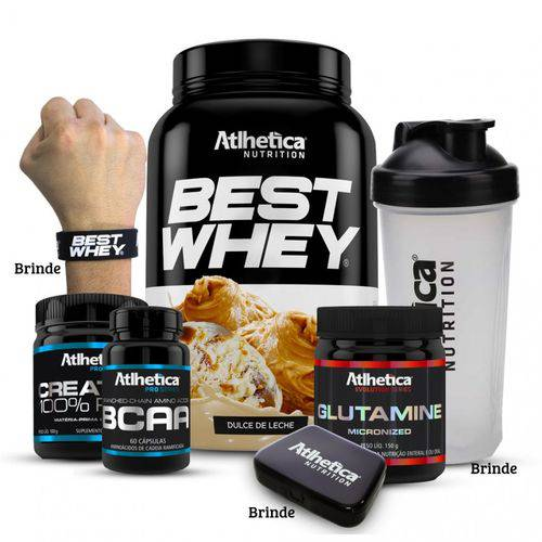 Combo Best Whey - Atlhetica Nutrition