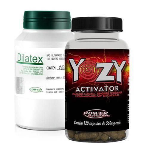 Combo - Dilatex 152 Caps + Yozy Activator 120 Caps - Power Supplements
