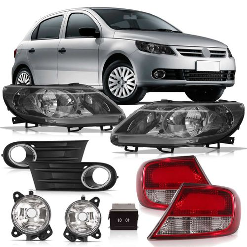 Kit Transformação Volkswagen Gol G5 2008 2009 2010 2011 2012 2013 Trend para Power