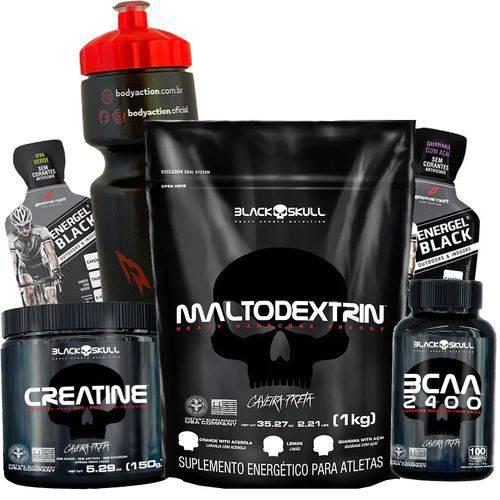 Combo Kit de Suplementos Massa Muscular e Energia