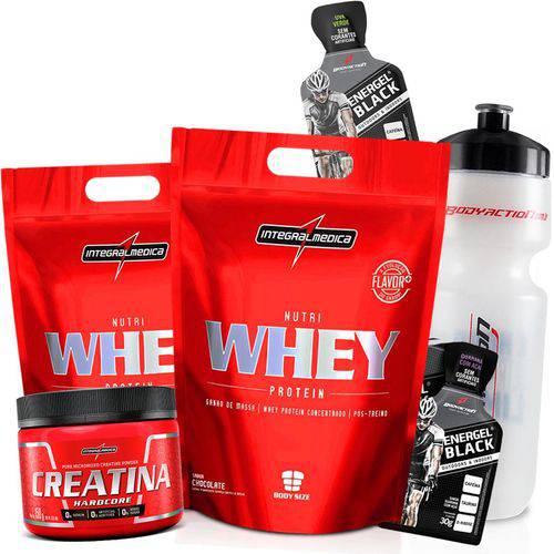 Combo Kit 2x Whey Protein Concentrado 907g + Creatina 150g Wey