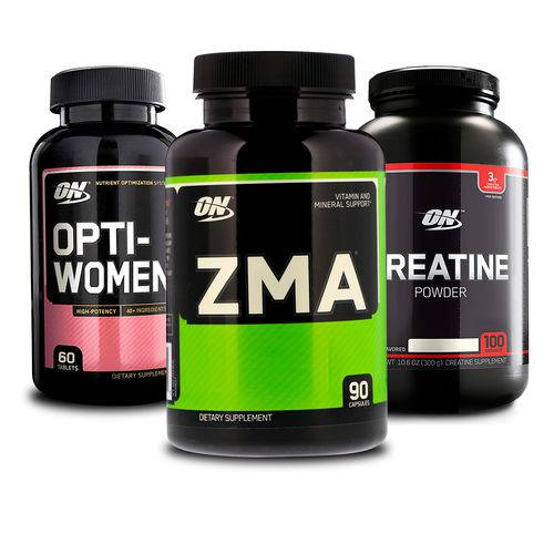 Combo Opti-women 60 Tabs + Zma 90 Caps + Creatina On Optimum