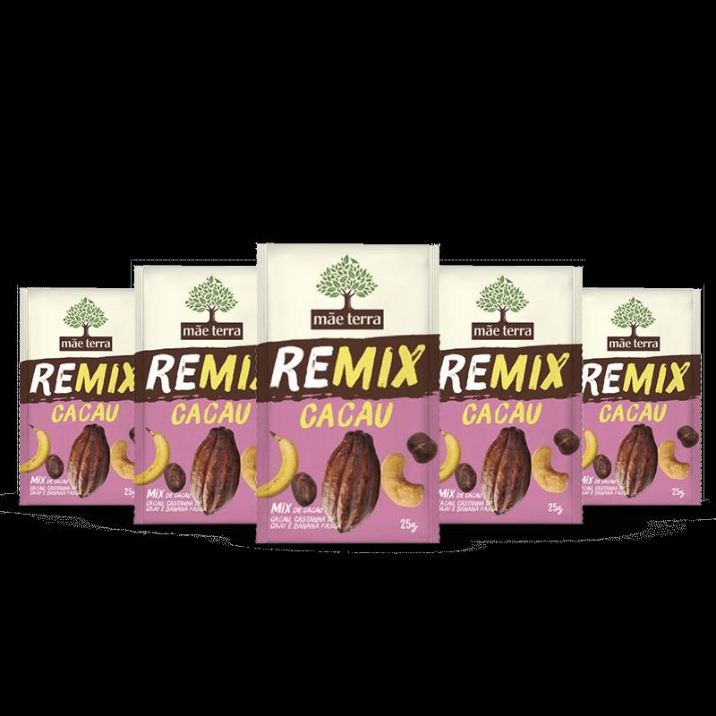 Combo Remix Cacau Mãe Terra (5 Unidades)
