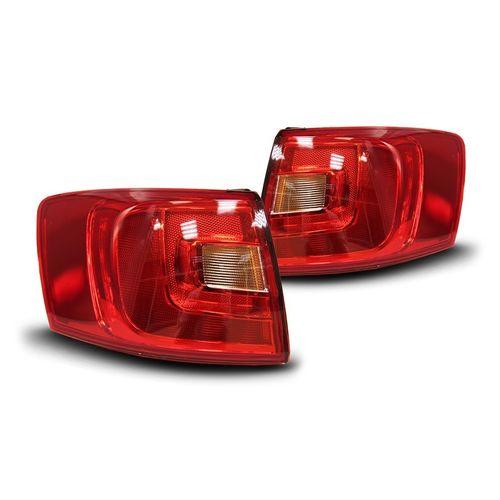 Combo Volkswagen Jetta 2011 a 2015 Lanterna Traseira Canto Bicolor + Lanterna Porta Malas Bicolor