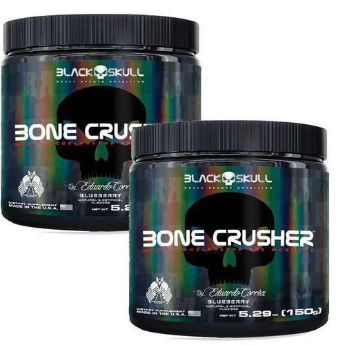 Combo 2x Pré Treino Bone Crusher (150g) - Black Skull