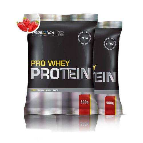Combo 2x Pro Whey Protein 500g - Probiótica