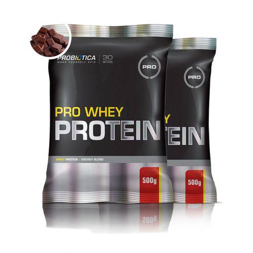 Combo 2x Pro Whey Protein 500g - Probiótica
