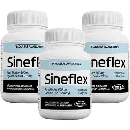 Combo 3x Sineflex - Power Supplements