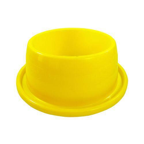 Comedouro Furacão Pet Anti Formiga Amarelo - 350ml
